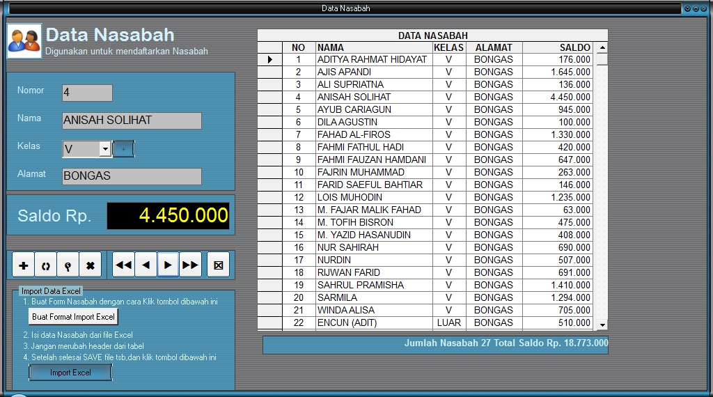 download program tahunan tematik kelas 1 sd